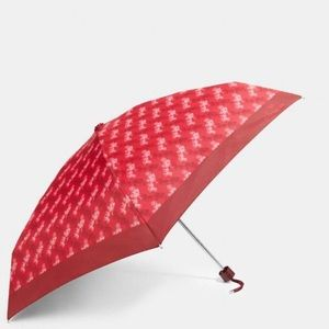 Coach Umbrella With Horse And Carriage Print